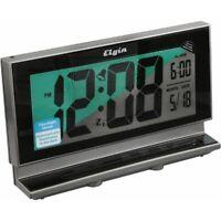Elgin LCD Battery Operated Alarm Clock by La Crosse Technology Ltd