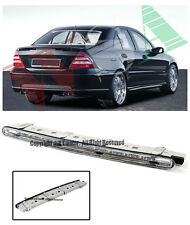 For 01-07 Benz W203 C-Class Rear Trunk Replacement CLEAR LED Third Brake Light