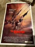 The Howling (1981) Original One Sheet Theatrical Poster Folded 27x41