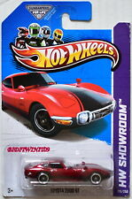 HOT WHEELS 2013 HW ALLSTARS SUPER TREASURE HUNT TOYOTA 2000 GT W+