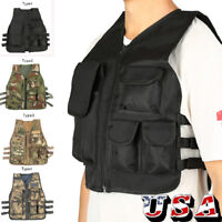CS Game Molle Body Armor Tactical Lightweight Tactical Armor Plate Carrier Vest
