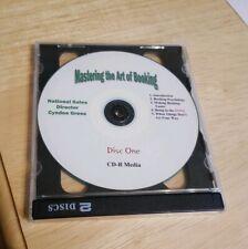 Mastering The Art Of Bookimg 2 Cd-R media set National Sales Cyndee Gress Rare