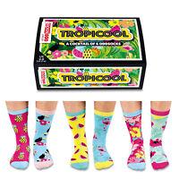 Verrückte Socken Oddsocks Tropicool für Frauen Strümpfe Tropicool im 6er Set