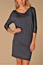 Dressed by Twenty Taupe Ruched Sides Cowl neck Shift dress X-large