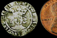 a8: Edward III Hammered Silver Penny : Pre-Treaty, Series A, im Cross Patee