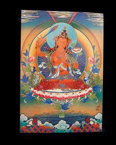 Postkarte Tibetische Gottheit Buddhistisches Manjushree Manjushri Nepal 9291
