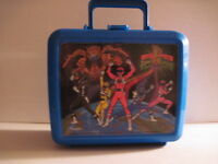 Power Rangers Plastic Lunchbox with Thermos! (Used)  1993.