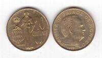 MONACO - 10 CENTIMES UNC COIN 1979 YEAR KM#142 RAINIER III