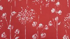 MARSON WINDSOR RED DESIGNER CURTAINS BLINDS CRAFT UPHOLSTERY FABRIC