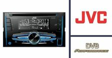 JVC KW-R520 CD MP3 Double Din Car Stereo USB Tuner Front Aux In Fast Delivery