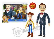 Disney Pixar TOY STORY 4 BENSON & WOODY FIGURE 2 PACK NEW Movie Puppet 2019