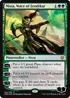 NISSA, VOICE OF ZENDIKAR (Foil) Duel Decks: Nissa vs. Ob Nixilis MTG Green Rare