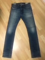 WORN LOOK Mens Diesel THAVAR Stretch Denim 0848Z BLUE Slim W29 L32 H6 RRP£150