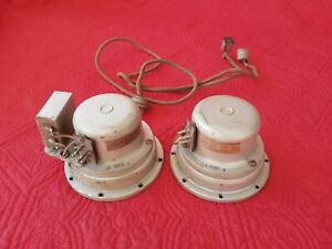 EH Scott Q4 Tweeters for All Wave 23 Receiver Radio TESTED Scarce E.H. Scott