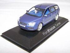 Ford Focus Turnier Kombi 2004-2010  Minichamps Modell  1/43  Blau Neu OVP