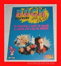 Album figurine EDIS 1987 ROCK e YOU vuoto