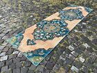 Carpet, Turkish rug, Vintage rug, Handmade rug, Runner, Wool | 2,7 x 9,4 ft