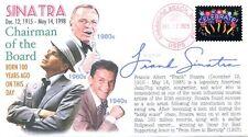 COVERSCAPE computer designed 100th anniversary of birth of Frank Sinatra cover