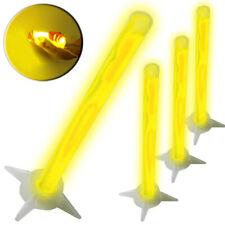 XXL Knicklichter 4er Pack GELB Outdoor SOS Signallicht Power Leuchtstab Neongelb