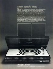 1976 Bang & Olufsen Beocenter 3500 Audio Component photo vintage print ad