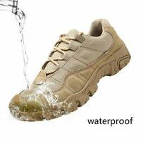 Men Walking Shoes Waterproof Breathable Hiking Anti-Slip Trekking Sneakers Boots