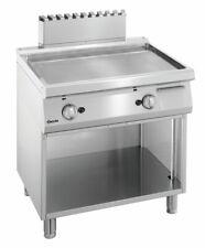 Griddleplatte Griddle Bräter glatt UO Gas 800 X 700 X 850  Gastro Gastlando