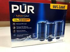 3 Pack PUR RF-9999 MAXION Faucet Mount Mineral Clear Replacement Filters New