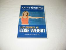 Kathy Smith Lift Weights to Lose Weight 2 20 Minute Workouts DVD
