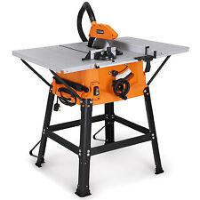"VonHaus 1800W 10"" 250mm Table Saw 5500rpm 220v Precision Cuts Sturdy Underframe"