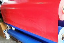 1 Foot Commercial Vinyl Strip Red Repair Inflatable Bounce House Patch Material