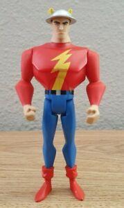 "Justice League Unlimited JLU Golden Age The Flash Jay Garrick 4.5"" Mattel"