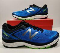 Mens New Balance 860V8 Running Shoes Blue Green Black M860BG8 Size 10.5 EE