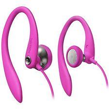Philips SHS3200PK Flexible Earhook Headphones Secure fit SHS3200 Pink/GENUINE