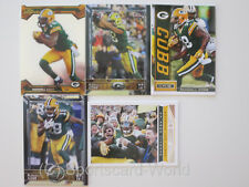 RANDALL COBB - 5 verschiedene Trading Cards (Lot) - GREEN BAY PACKERS