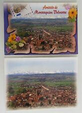 2x MONTESQUIEU VOLVESTRE France France Lot Cartes Postales Haute Garonne CPA's