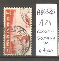 FRANCOBOLLI COLONIE SOMALIA USATI N. A24 (A80585)