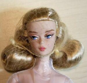 Barbie Signature Best in Black Silkstone Articulated Blonde Nude Doll Collector
