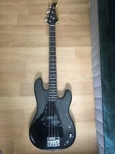 Silvertone electric bass guitar 4 string