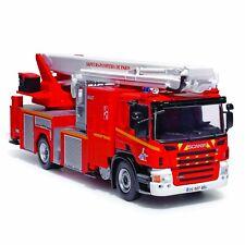 Bras élévateur articulé Metz sur Scania P320 1/43 Neuf  Pompier camion fire