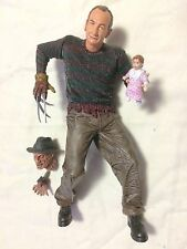 """NECA SDCC EXCLUSIVE SPRINGFIELD SLASHER FREDDY KRUEGER 8"""" ACTION FIGURE AS NEW!"""