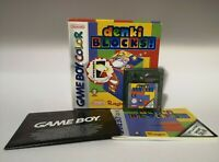 Denki Blocks Game for Nintendo Gameboy Color | GBC | Complete | CIB | VGC