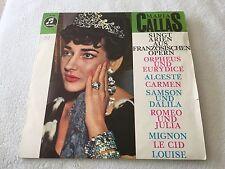 MARIA CALLAS singt Arien aus Französischen Opern, Vinyl-LP, COLUMBIA