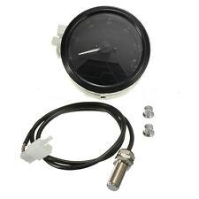 NUEVO LCD Digital Tacómetro Velocímetro Odómetro MOTO 12000 RPM