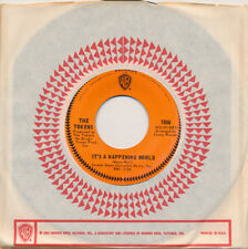 The TOKENS It's A Happening World / How Nice 45 rpm NM