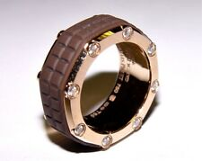AUDEMARS PIGUET Royal Oak Offshore Diamond Ring/Band 18K Rose Gold S-8.75 10MM