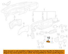 GM OEM Instrument Panel Dash-12V Power Lighter Housing 25776667