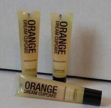 ( 3 ) Hempz Treats Orange Dream Cupcake Lip Shine Gloss Balm ~ Free Shipping