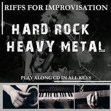 CD basi PLAY A LONG HARD ROCK / HEAVY METAL - play along - BACKING TRACK - NEW