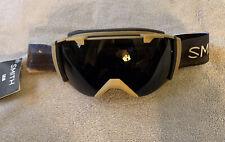 Smith Optics I/O Goggles - Blackout Lens Buffalo Strap NWT