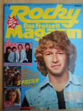 ROCKY 45- 5.11. 1979 (1) P. Maffay Donna Summer-XL Brooke Shields Police Cassidy